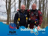 Proficiat Bjorn met het behalen van je PADI Open Water Diver brevet in Gent!