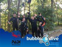 Proficiat aan Bram, Delphine, Eva, Koen en Lobke met het afronden van hun PADI Divemaster opleiding bij Bubble and Dive in Gent!