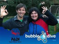 Proficiat Dries met het behalen van je PADI Open Water Diver brevet in Gent!