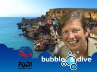 Proficiat Veronique met het behalen van je Deep Diver Specialty