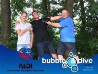 Proficiat Koen en Darrell met het behalen van jullie PADI Underwater Navigator Specialty brevet in onze duikschool in Gent!