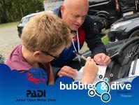 Proficiat Thomas met het behalen van je PADI Junior Open Water Diver brevet bij onze gentse PADI duikcenter!