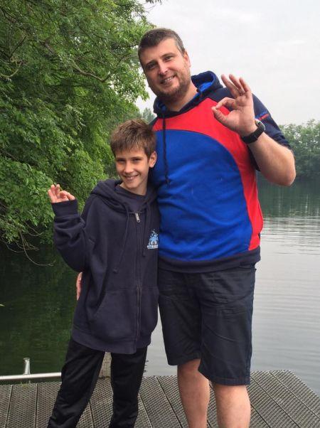 Proficiat Colin met het behalen van je Junior Open Water Diver brevet!