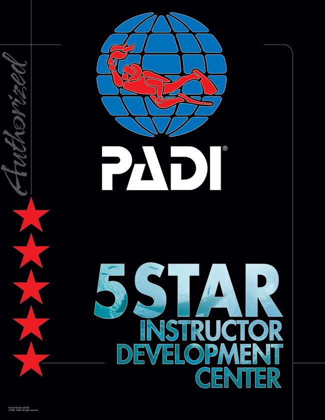 Bubble and Dive is een PADI Five Star Instructor Development Dive Center