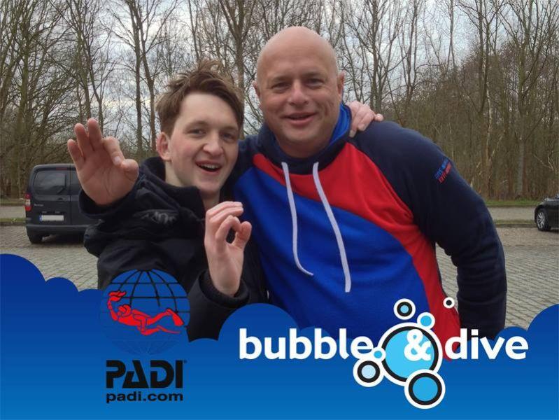 Proficiat David met het behalen van je Open Water Diver brevet!