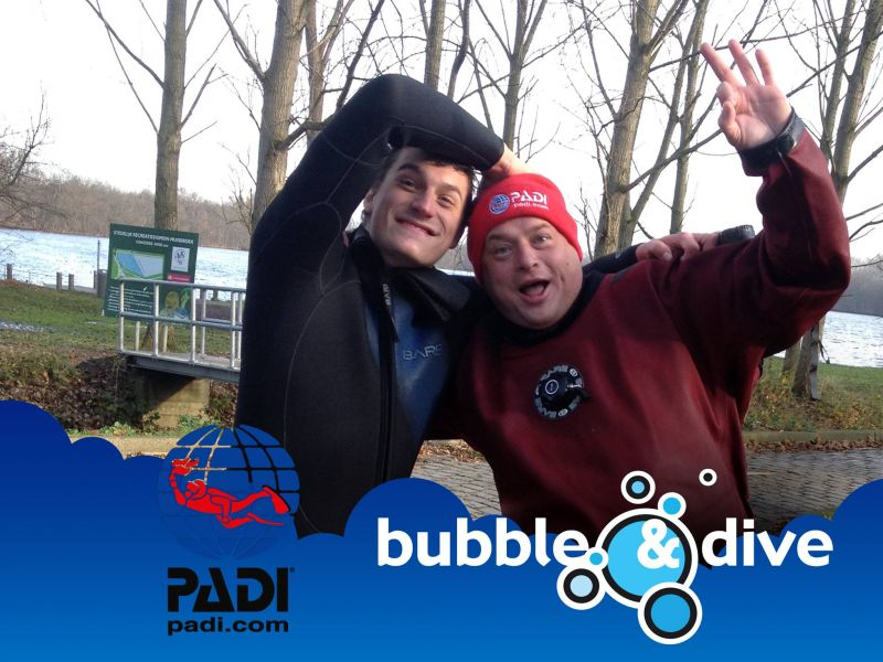 Proficiat Diether met het behalen van je Open Water Diver brevet!
