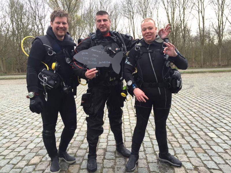 Proficiat Bruno en Kevin met het behalen van jullie Open Water Diver brevet!