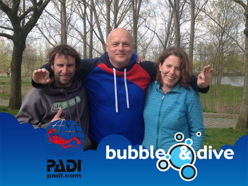 Proficiat Koen en Caroline met het behalen van jullie Open Water Diver brevet!