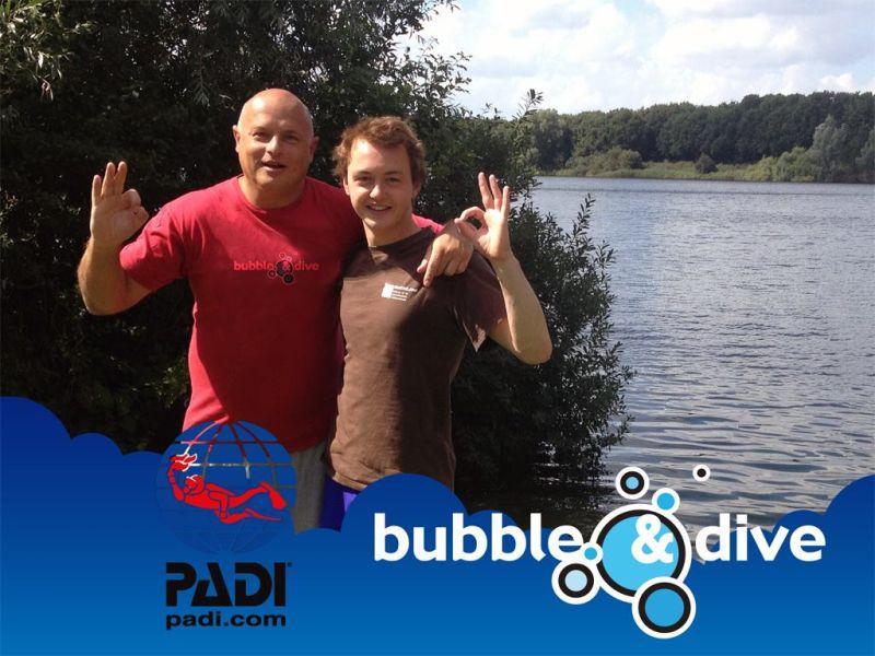 Proficiat Nathan met het behalen van je Open Water Diver brevet!