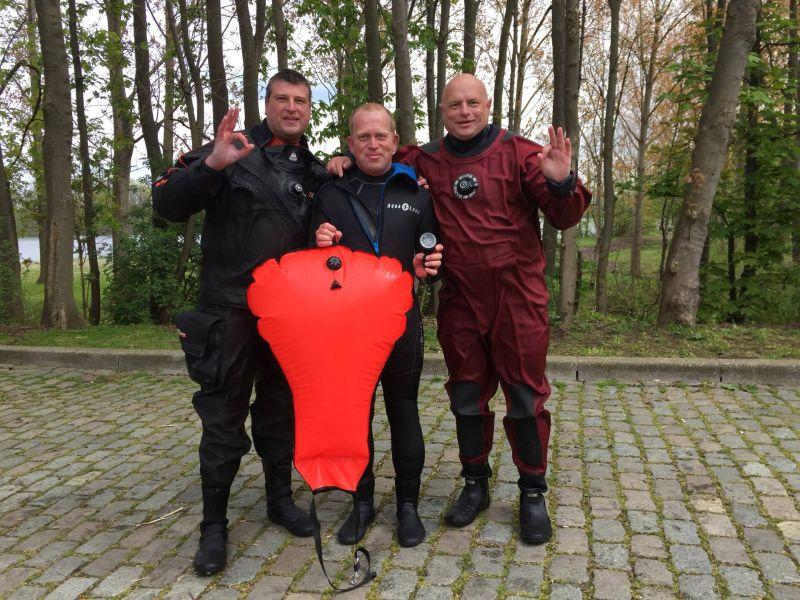 Proficiat Renaat met het behalen van je Advanced Open Water Diver brevet!