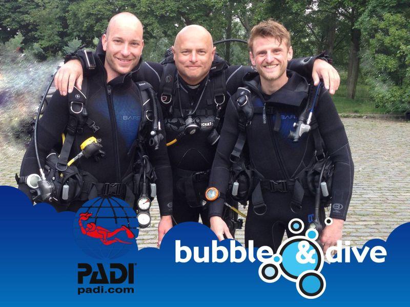 proficiat Tim en Ruben met het behalen van jullie Open Water Diver brevet!