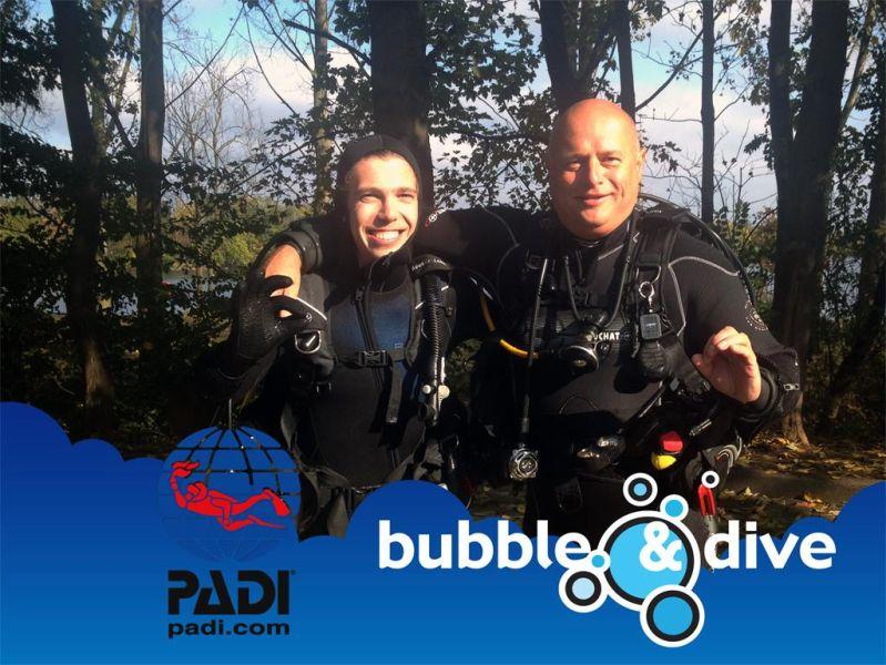 Proficiat Wouter met het behalen van je Open Water Diver brevet!